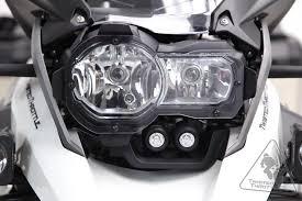 white led motorcycle light kit denali lighting dm led light kit for bmw r1200gs lc 13 18