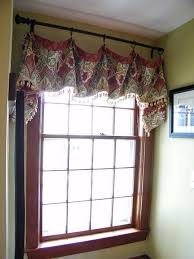 impressive curtains and valances and best 25 scarf valance ideas