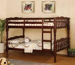Cherry Bunk Bed Espresso Oak Or Cherry Finish Bunk Bed W