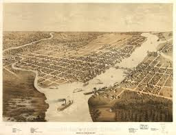 Wisconsin Cities Map by Green Bay Wi 1867 City Maps Pinterest City Maps And Wisconsin