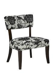 brassex accent chair black cream walmart canada