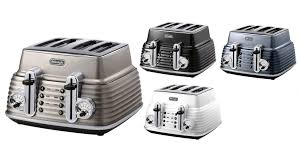 Deloghi Toaster Delonghi Scultura 4 Slice Toaster Toasters Small Kitchen