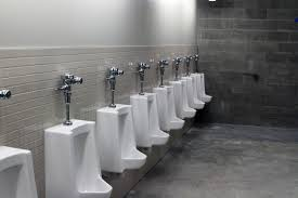 Stadium Bathrooms Modern Luxury Corporate Office Bathroom With Urinals That Used