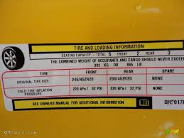2012 dodge challenger srt8 yellow jacket info tag photo 61393789