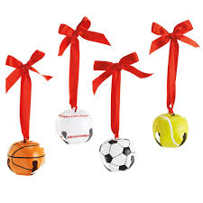 sports ornaments show your towards your
