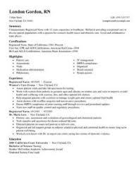 Good Nursing Resume Download Example Nursing Resume Haadyaooverbayresort Com