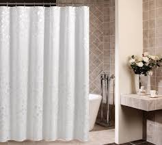 White Satin Curtains Becan Simple Ikea Style White Satin Polyester Fabric Shower