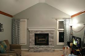 small living room ideas with fireplace modern living room with brick fireplace captivating living