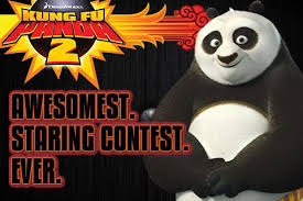 kung fu panda 2 awesomest staring contest app store
