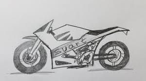 comment dessiner une moto youtube