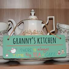hanging ls for kitchen always time for tea cake hanging sign i thought of you