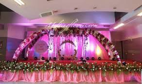flower decoration for wedding reception in bangalore decorative
