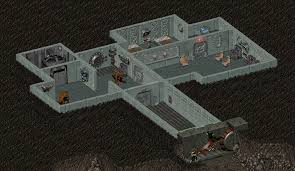 Fallout 2 Map by Image Fo2 Vault 13 Entrance Png Fallout Wiki Fandom Powered
