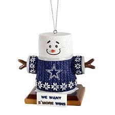 wholesale dallas cowboys s mores tree ornament bay