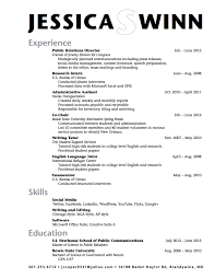 how to write a good resume for university