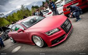 pink audi a7 worthersee 2013 gallery si gray 082 vwvortex