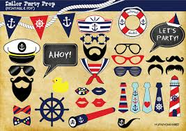 photo booth party props nautical themed party photo booth prop sailor themed party photo
