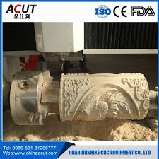 4 axis cnc wood router machine rotary axis cnc milling machine 8