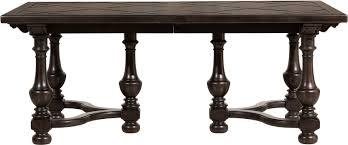 pulaski furniture p012240 dining room caldwell rectangular table base pulaski furniture caldwell rectangular table base p012240