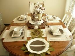 kitchen table setting ideas dining room table settings ideas with wooden dining decoration