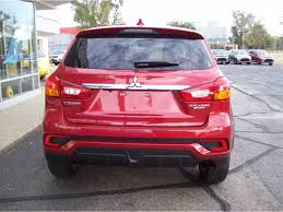 red mitsubishi outlander 2018 mitsubishi outlander for sale classiccars com cc 1033379