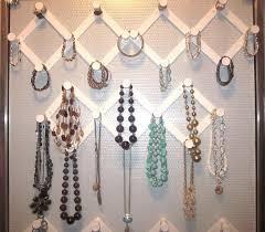 necklace storage display images 30 brilliant diy jewelry storage display ideas for creative juice jpg