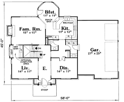 Early American Classic 40769db Architectural Designs House Plans American Floor Plans And House Designs