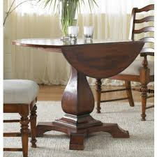 hooker round dining table hooker furniture dining room pedestal hooker furniture round drop leaf table reviews wayfair round dining table with leaf