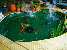 outdoor and patio attractive backyard koi pond ideas combined