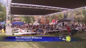 Fresno State Parking Map by Vintage Days Celebration Kicks Off At Fresno State Abc30 Com