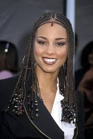 beaded braid hairstyles alicia keys most head turning hairstyles of all time huffpost