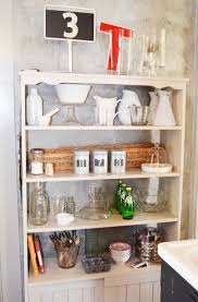 Open Kitchen Shelving Ideas Kitchen Hanging Open Kitchen Shelving For Contemporary Kitchen By
