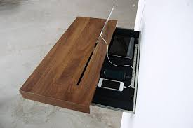 Charging Station Shelf Elegant Stage Offers A Discreet Charging Shelf For Your Smart Gadgets