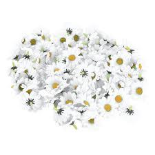 Home Decoration Flowers 100pcs Artificial Gerbera Daisy Head Wedding Bouquets Garland Home