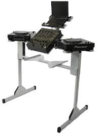 Dj Desk Sefour Xc250 Pro Compact Dj Stand For Cd Players Silver U2022 Planet Dj