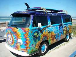 volkswagen van hippie colorful hippie van color pinterest volkswagen vw and