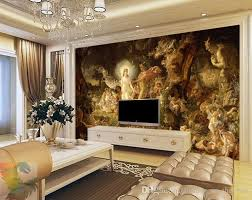 Anti Mould Spray For Painted Walls - classical oil painting wall murals custom 3d wallpaper european