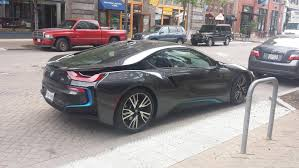 Bmw I8 Gold - saw this bmw i8 outside my office autos