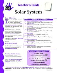 on solar system lesson pics about space