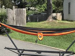 bear double parachute camping hammock review