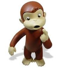 curious george plush monkey stuffed animal patriotic uncle sam usa