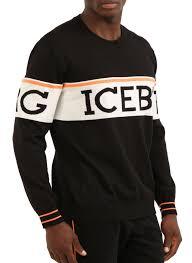 iceberg sweater iceberg paneled logo sweater moda404 s boutique
