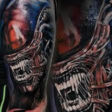 xenomorph tattoos pinterest shoulder tattoo and xenomorph