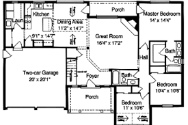 32 2000 ft house plans open floor plans eplans new american