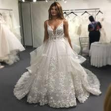 Wedding Dresses 2017 Vinca Sunny Lace Wedding Dresses 2017 Backless V Neck