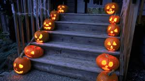 halloween background anime 1920x1080 download wallpaper 1920x1080 halloween holiday pumpkin stairs