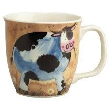animals cow gleneagles of edinburgh fine china mugs