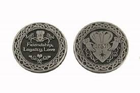 claddagh set friendship loyalty pocket token with claddagh set of 2 ebay