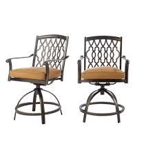 out door bar stools home decorators collection ridge falls aluminum outdoor bar stool