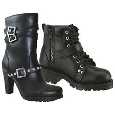 biker riding boots women s leather motorcycle boots